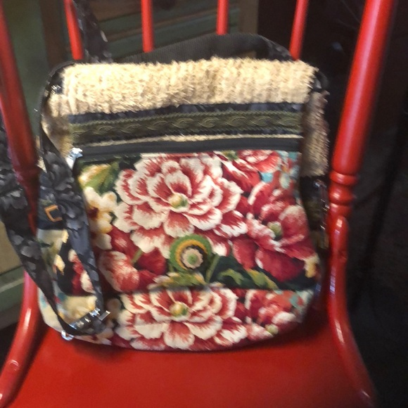 old bags Handbags - Old Bags fabric cross body or back pack